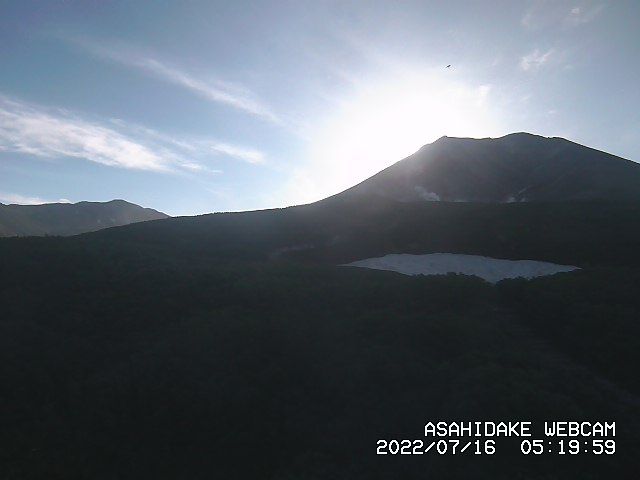 LIVE IMAGES OF MT.ASAHIDAKE